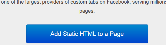 facebook static html